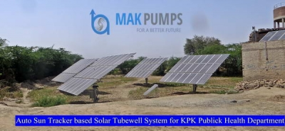 Auto Sun Tracker based Solar Tubewell System for KPK Public Health Department