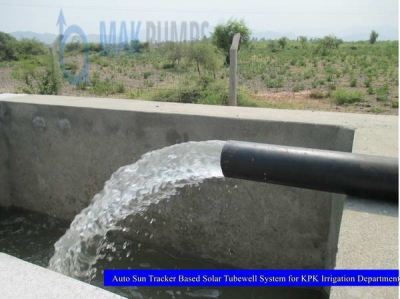Auto Sun Tracker based Solar Tubewell System for KPK Irrigation Department